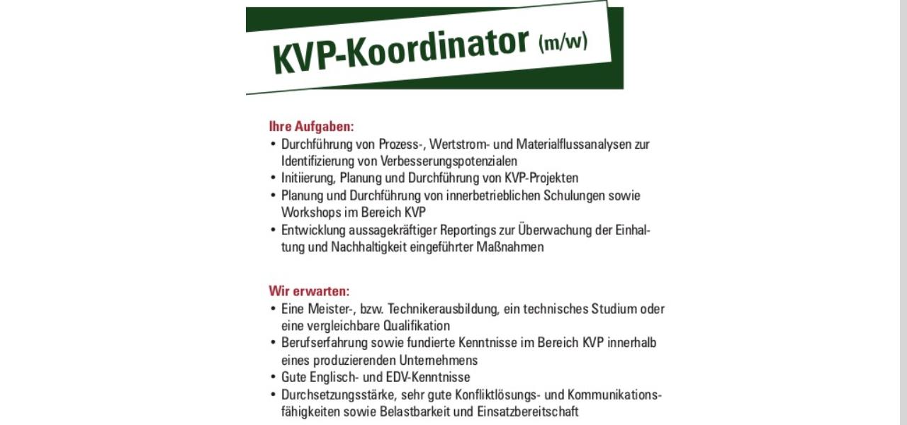 Emsland Frischgeflügel KVP Koordinator