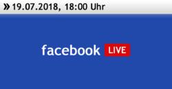 Facebook Live 19.07.2018