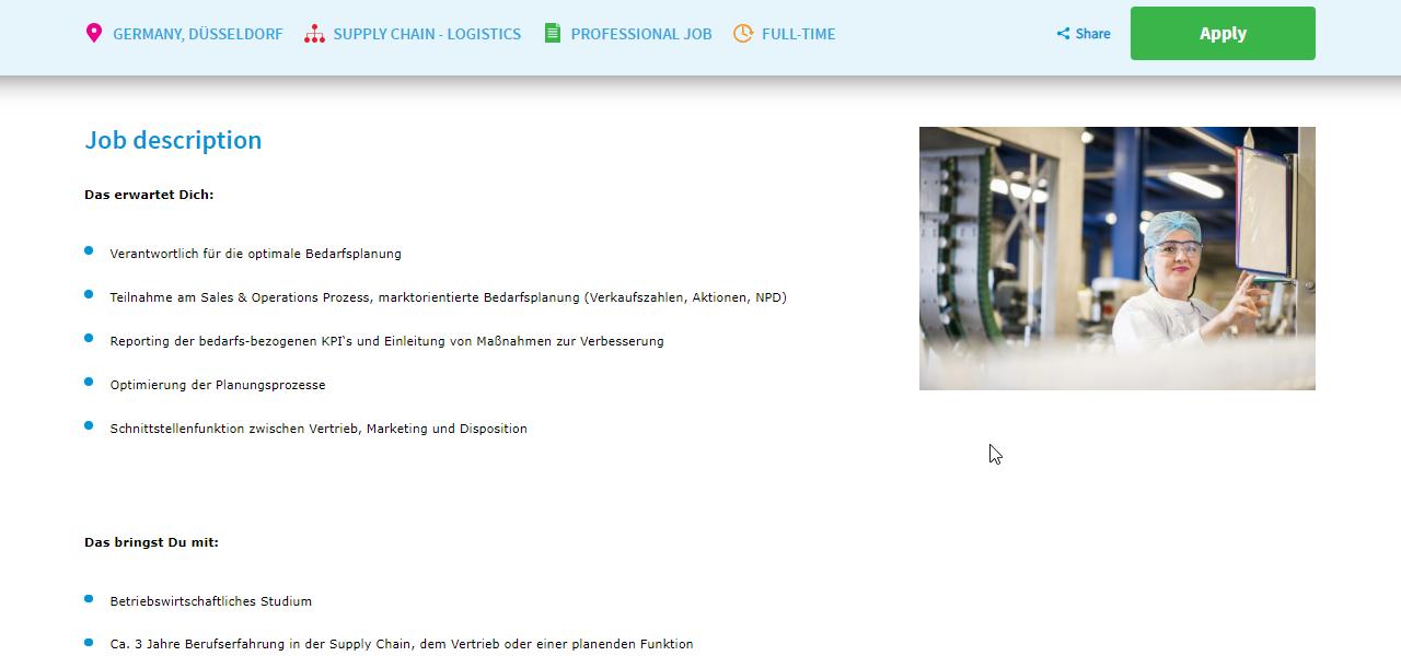 FrieslandCampina Demand Planner