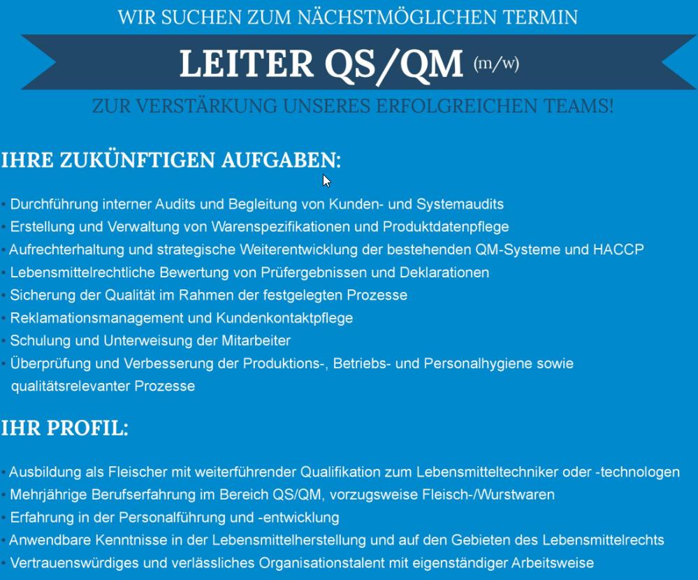 Konrad Boehnlein Leiter QS/QM