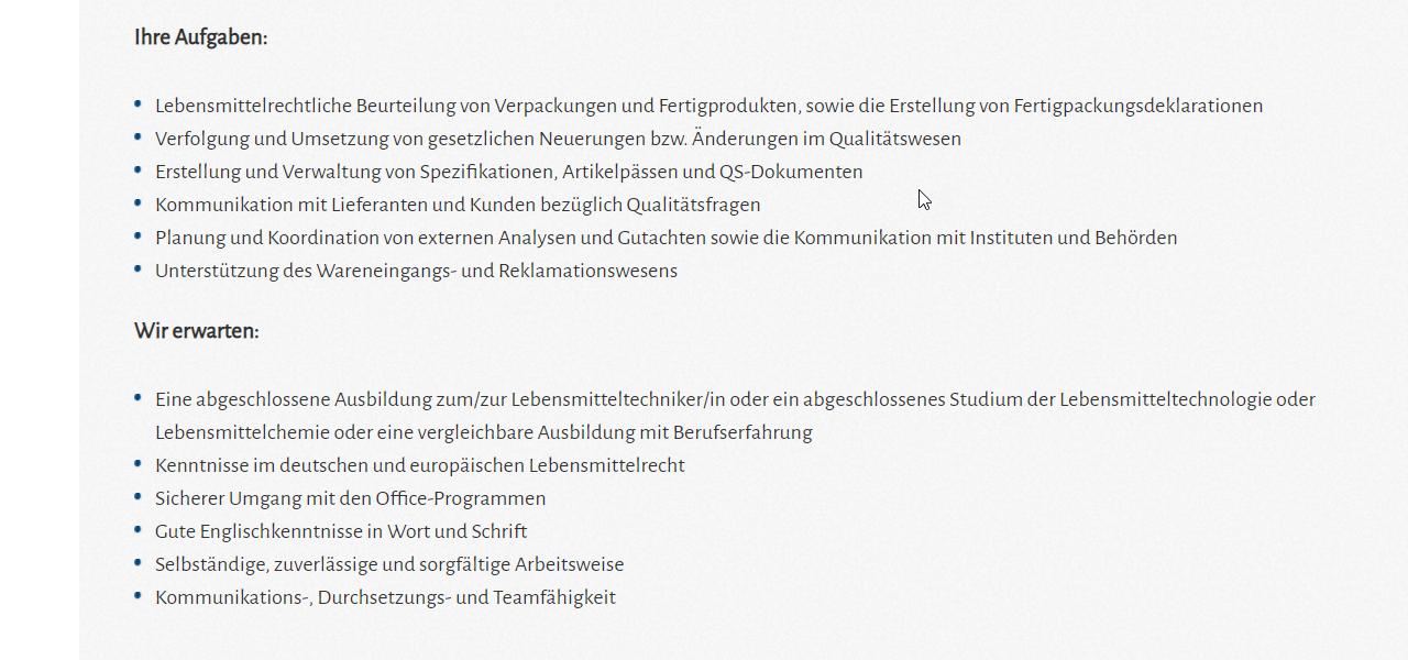 Kreyenhop Kluge Mitarbeiter Qualitätssicherung